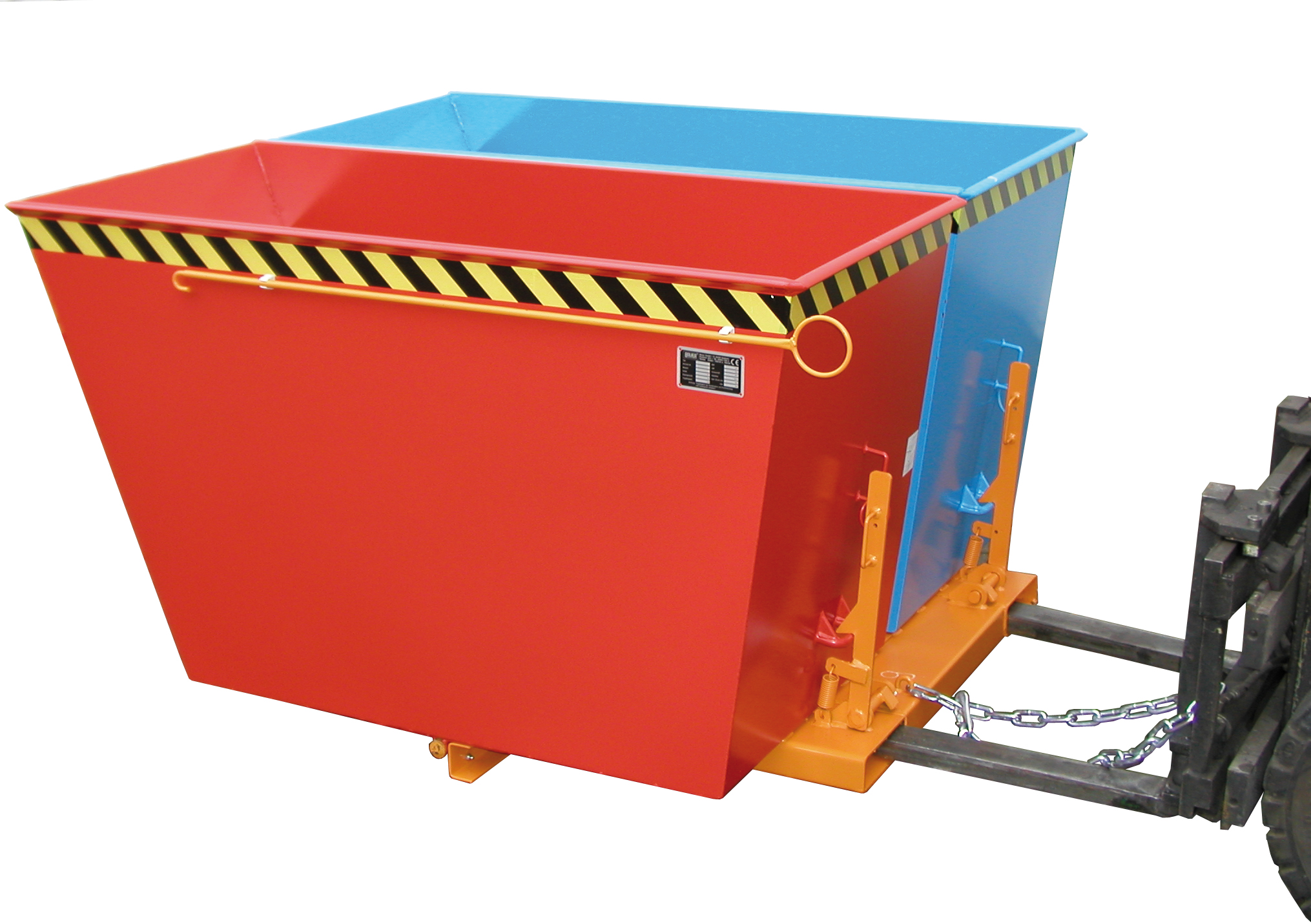 Bauer Südlohn® Duo tilting container, individually forward and tiltable