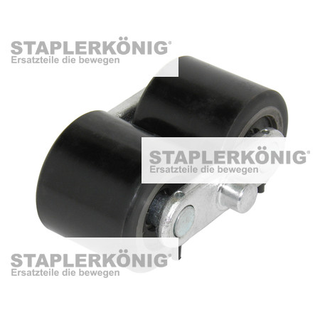 Bogie assembly (Polyurethan) (wheels and carrier)