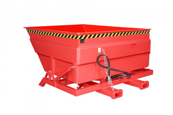 Bauer Südlohn® BKC-H tilting container, with hydraulic tilting device