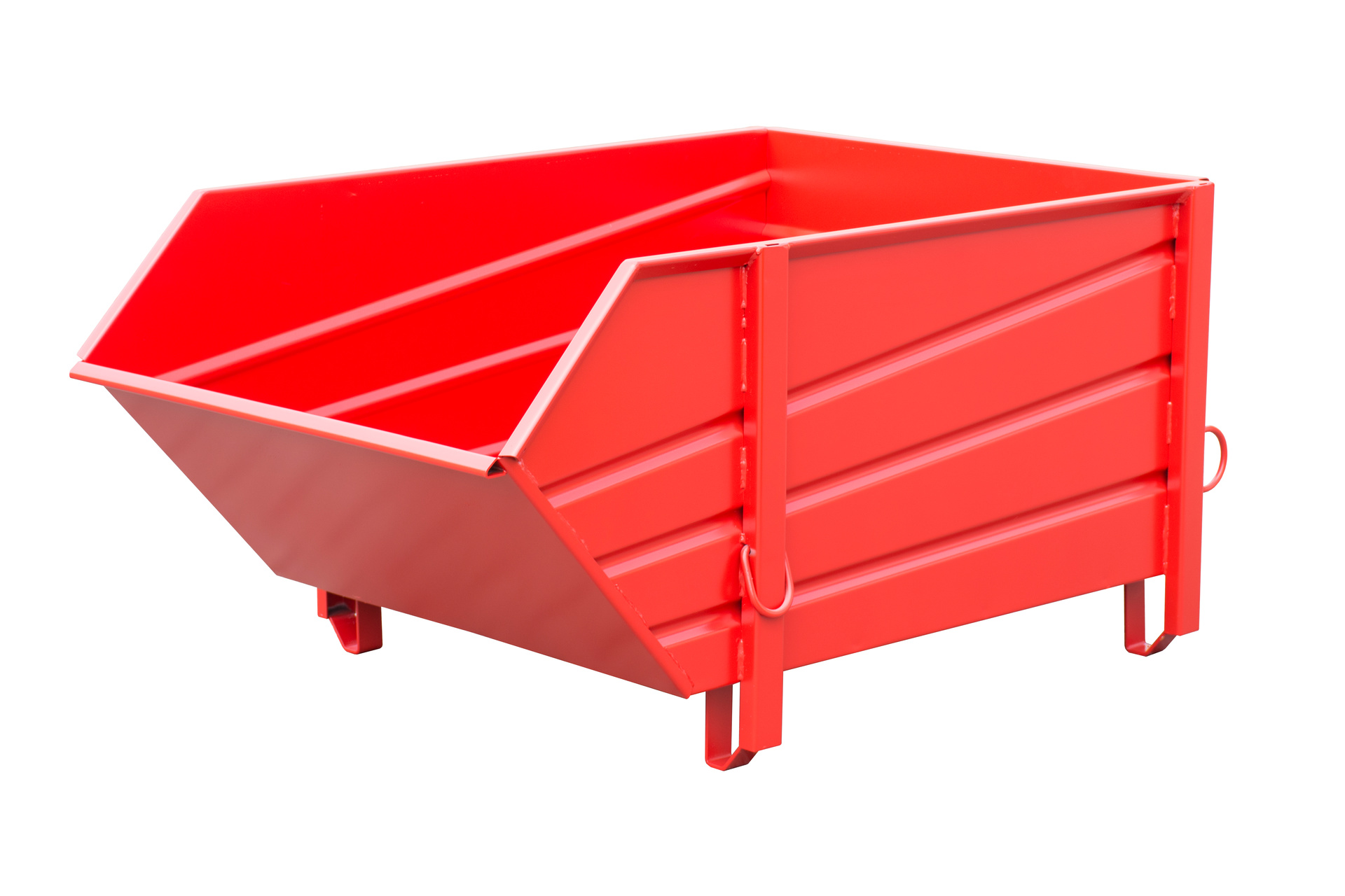 Bauer Südlohn® BBP Building material container, made of profiled sheet steel