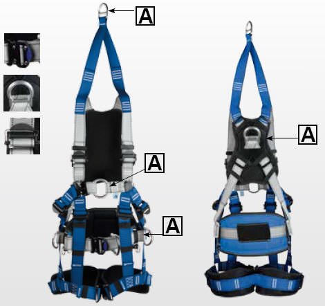 ICAR® IKG4DWRS Samme / Seat and Rescue Belt, Passenger and Load Winding