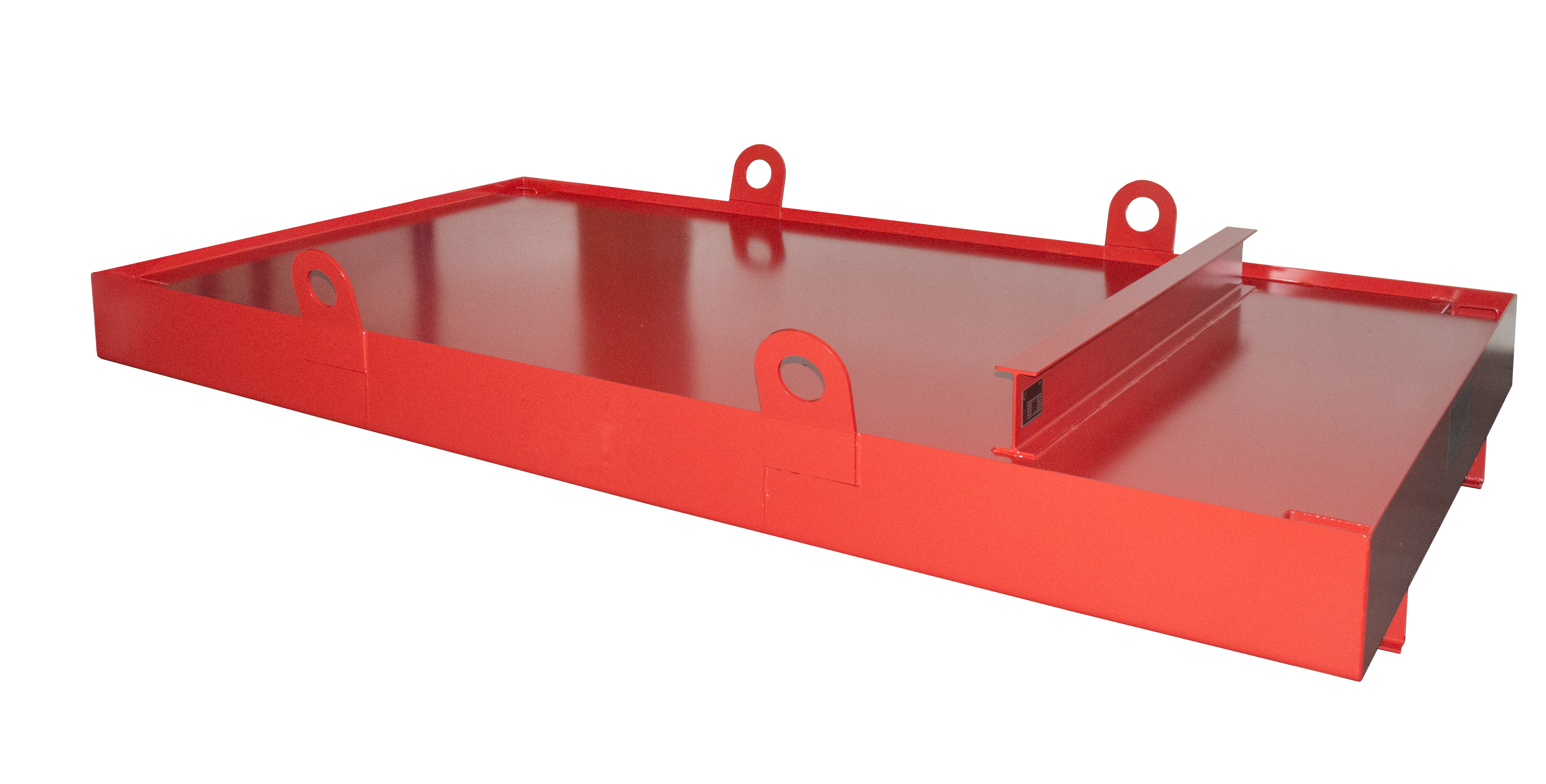Bauer Südlohn® CW container tub, crane eyelets for recording with crane