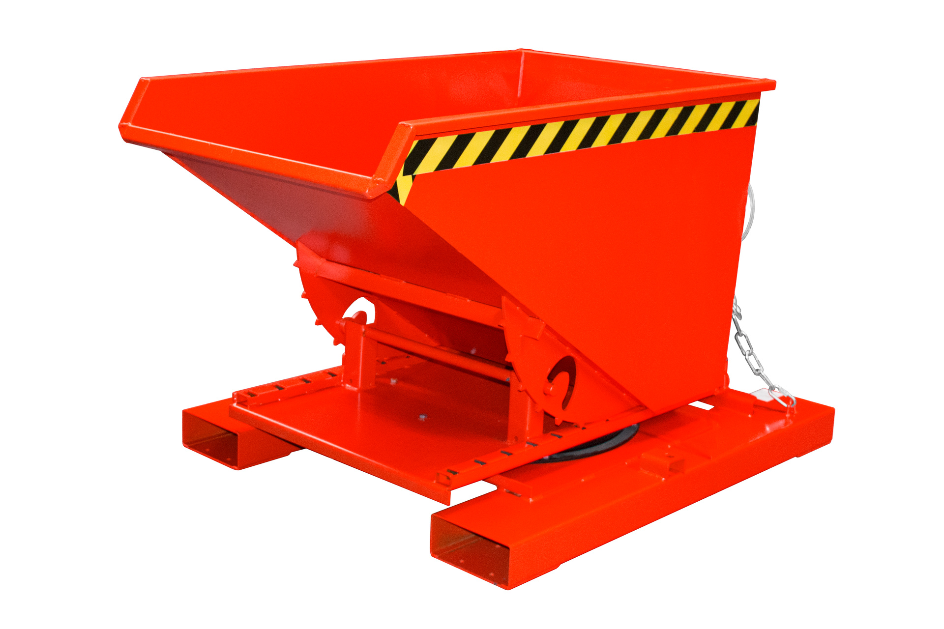 Bauer Südlohn® 3S tilting container, with 3-sided tilt function