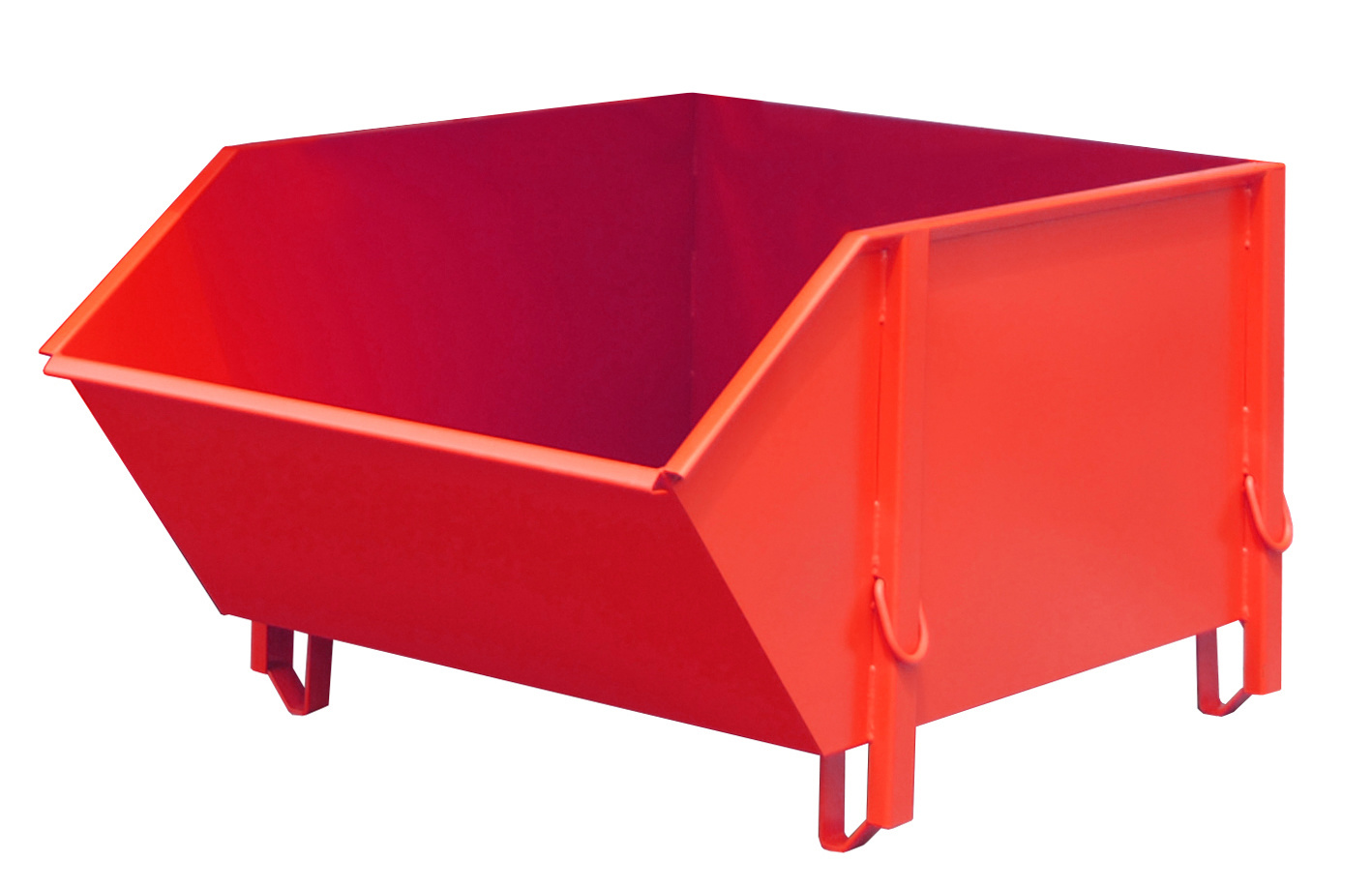 BAUER SÜDLAUT® BBG Building material container, made of smooth sheet steel