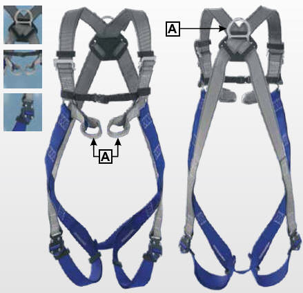 IKAR® IKG2C strap, with quick-release fasteners